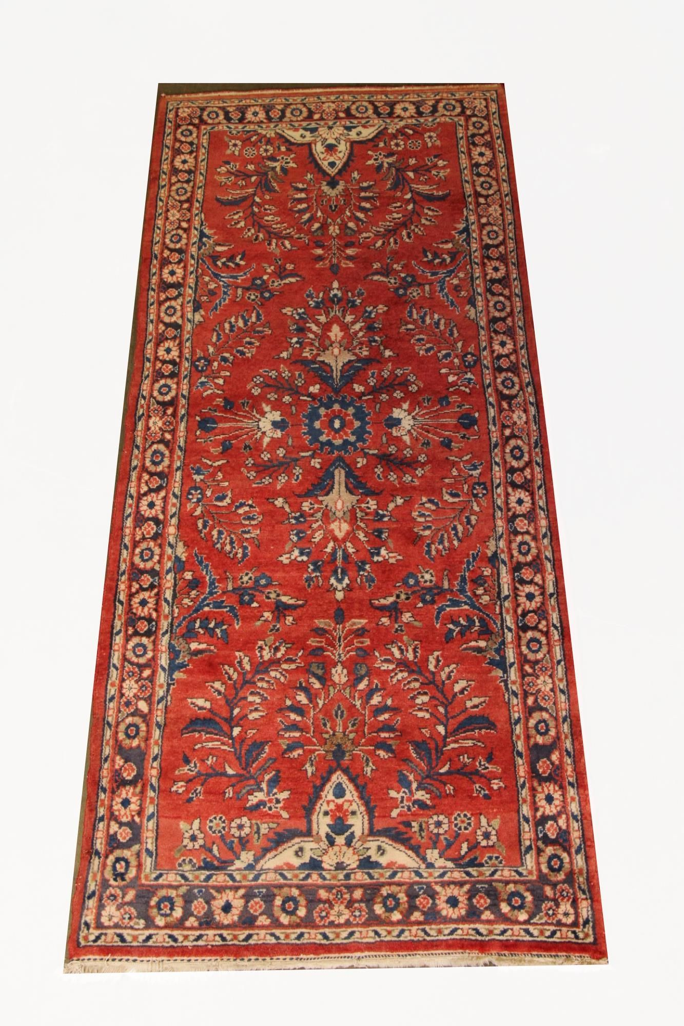 HANDKNOTTED PERSIAN SAROUK RUNNER