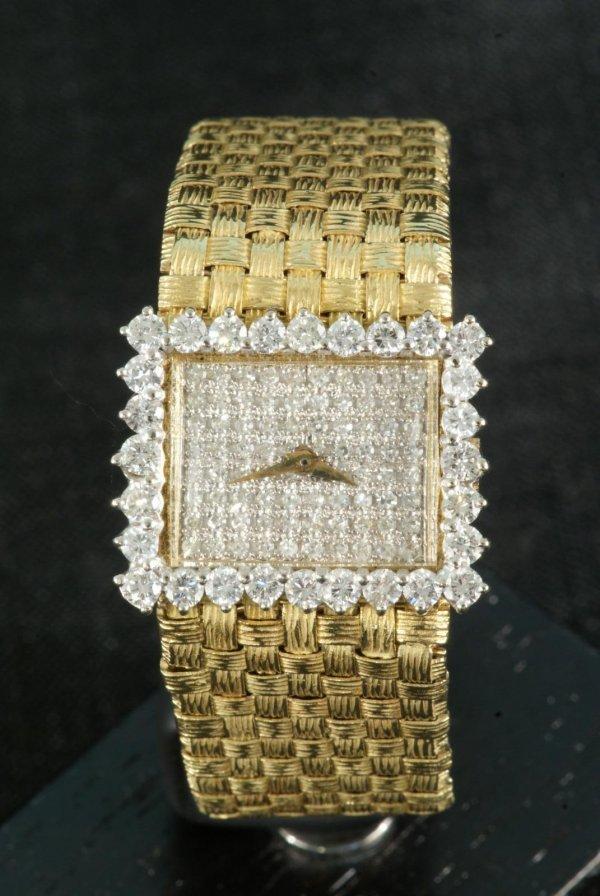 20A: LADY'S DIAMOND WATCH IN 18KT. GOLD NOBLIA-CITIZEN