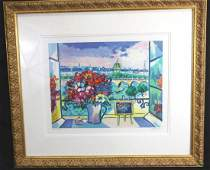 CONTEMPORARY LITHOGRAPH BY PICOT