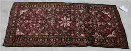 HAND KNOTTED PERSIAN JOZAN WOOL RUG