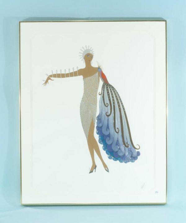 "23: ERTE` ""FEMALE DANCER"" LITHOGRAPH NUMBER 9/10"