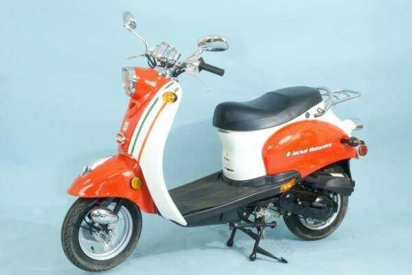 7: JACKEL MOTORETTA 50 MOTORIZED SCOOTER