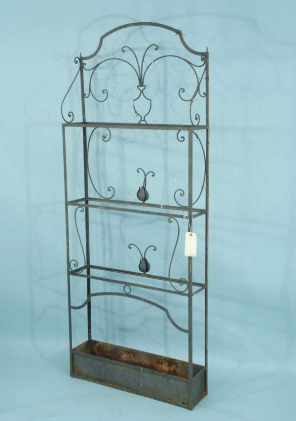 16A: WROUGHT IRON GARDEN PLANTER