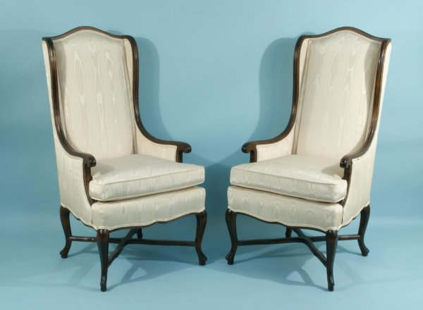 11: HIGHBACK ARMCHAIRS BY CENTURY FURNITURE COMPANY
