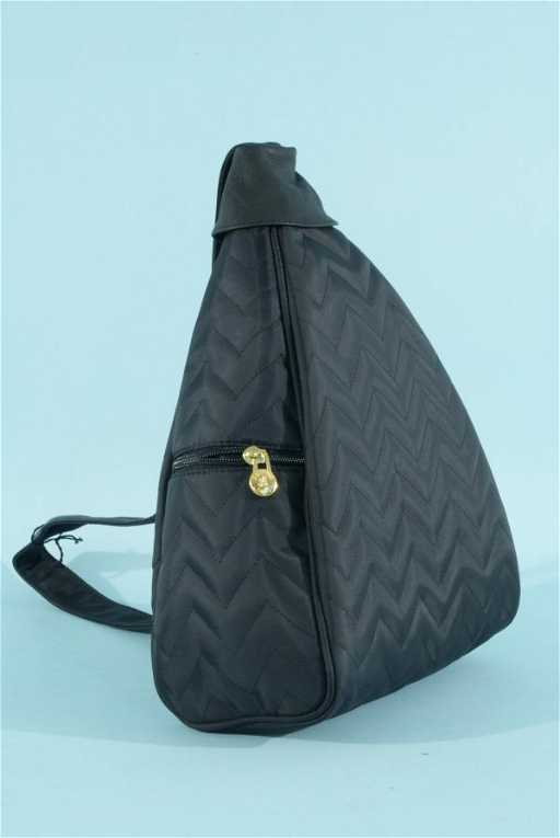 35f Black Quilted Tote Bag By Anonyme Paris