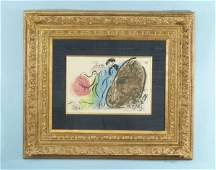 31 MARC CHAGALL ABSTRACT COUPLE EDITION 50200