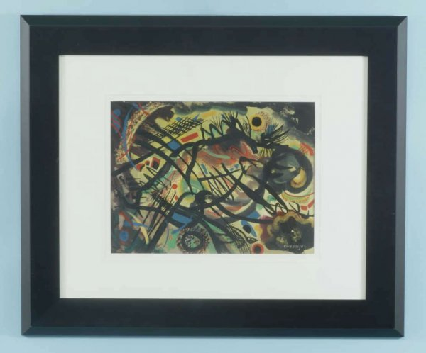 "48: WASSILY KANDINSKY ""UNTITLED ABSTRACT"" GOUCHE/PAPER"
