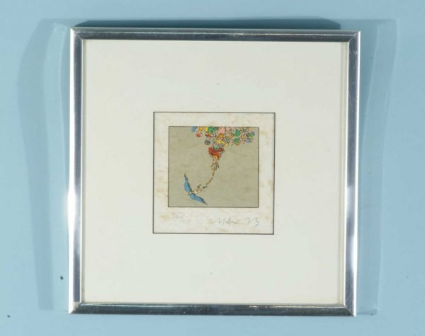 """122: PETER MAX """"BEING WITHOUT NEED"""" EDITION XXIX/L 1973"""