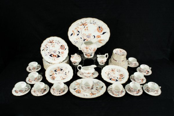 "16: SIXTY-EIGHT PIECE ""FRESIAN"" BOOTHS CHINA, ENGLAND"