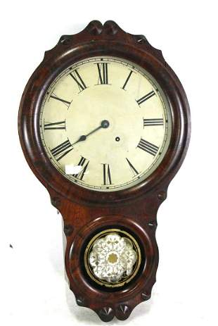 19th CENTURY SETH THOMAS WALL CLOCK