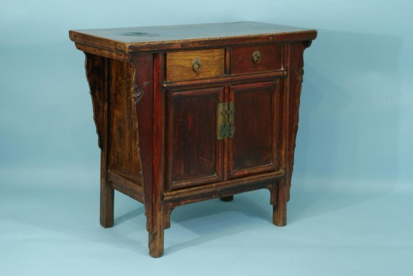 7: ANTIQUE CHINESE CABINET