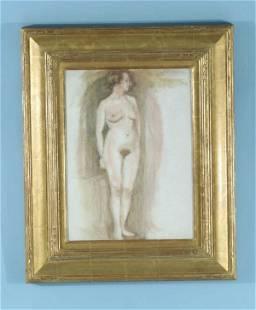 """134: JAMES ABBOTT MCNEILL WHISTLER (1834-1903) """"FEMALE"""