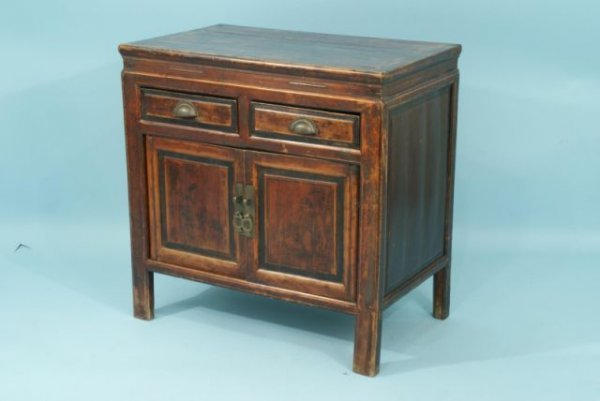13: ANTIQUE CHINESE CABINET