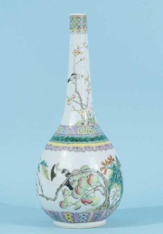 166: JAPANESE BOTTLE VASE, CIRCA 1780