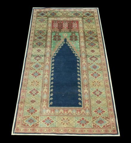4: MODERN TURKISH PRAYER RUG