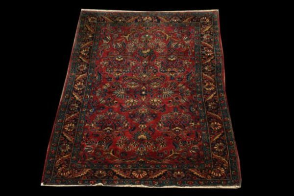 6: ANTIQUE PERSIAN SAROUK RUG