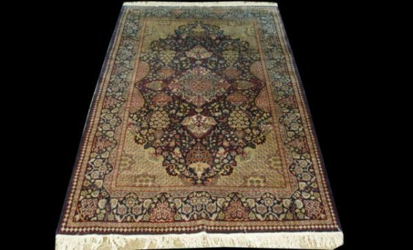 7: ANTIQUE PESHAVER RUG