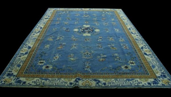 1C: ANTIQUE CHINESE RUG