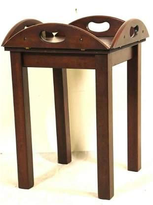 SMALL MAHOGANY BUTLER'S TABLE