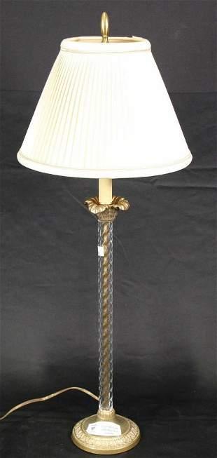 CUT CRYSTAL LAMP