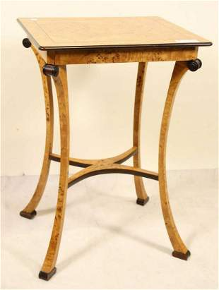 BAKER BIEDERMEIER STYLE LAMP TABLE