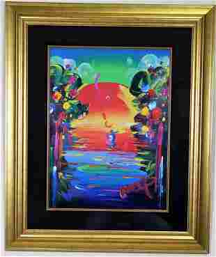 BETTER WORLD III BY PETER MAX