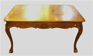 ANTIQUE COUNTRY FRENCH STYLE DINING TABLE