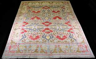 HAND KNOTTED INDIA AGRA RUG