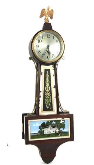 ANTIQUE BANJO WALL CLOCK