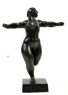 DANCING FEMALE SCULPTURE