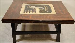 MID-CENTURY ONE OF A KIND TWO PIECE COFFEE TABLE