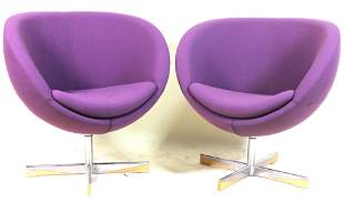 PAIR OF 1960's PLANET CHAIRS BY SVEN IVAR DYSTHE