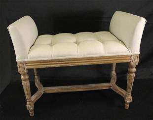 PERSCILLA SMALL UPHOLSTERED BENCH