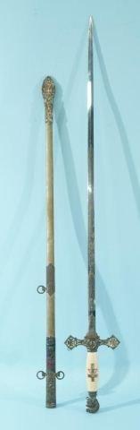 6: VINTAGE KNIGHTS OF COLUMBUS SWORD
