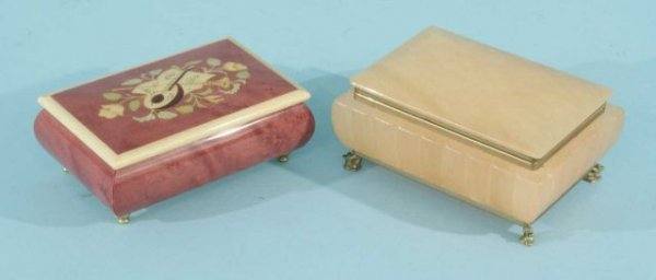 7: TWO DECORATIVE BOXES