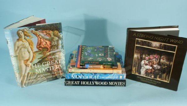 7: BOX LOT OF SEVEN COFFEE TABLE BOOKS