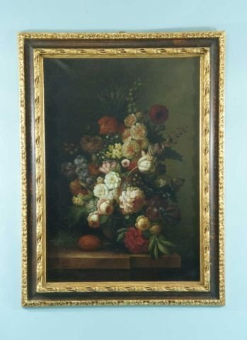 211: DUTCH STYLE FLORAL PAINTING