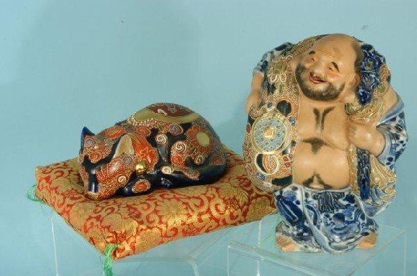 218: SATSUMA CAT AND HO PHAT BUDDHA