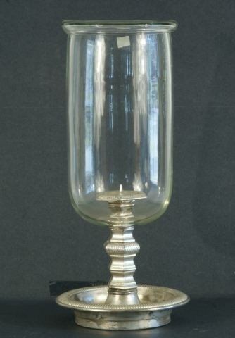 5: GLASS HURICAN CANDLE HOLDER