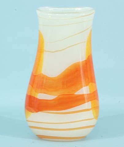 12: CONTEMPORARY ART GLASS VASE