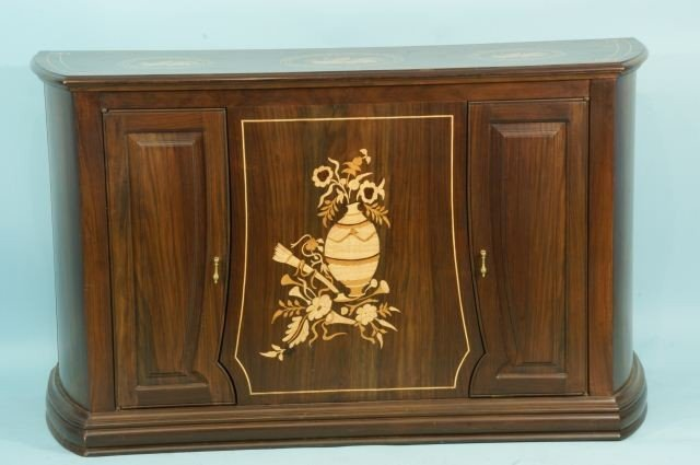4: ROSEWOOD INLAID CABINET