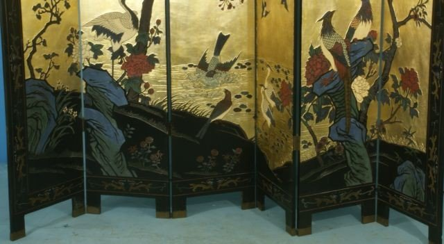 51: SIX-PANEL CHINESE COROMANDEL SCREEN - 2