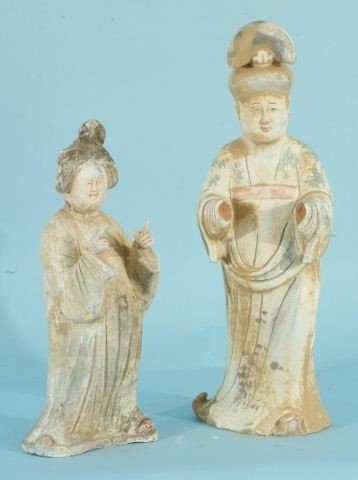 5: CHINESE CLAY FIGURES