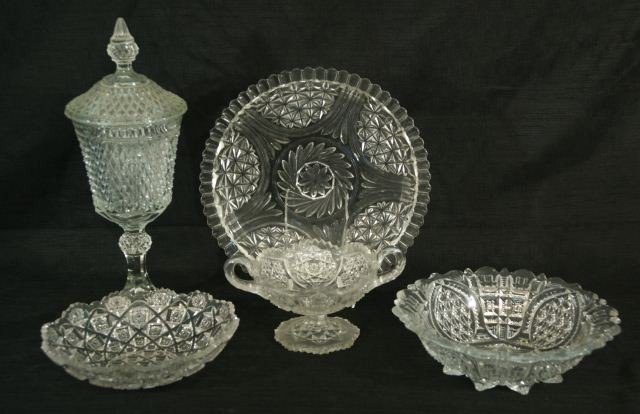 2: 5-PIECE MIXED LOT OF ASSORTED SERVING PIECES