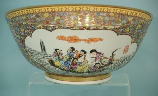 11: CHINESE PORCELAIN BOWL