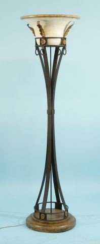 6: TORCHIERE FLOOR LAMP