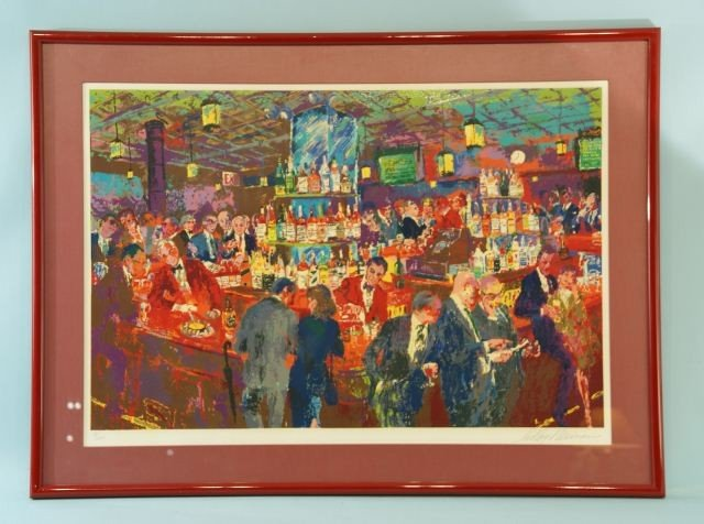 "16: LEROY NEIMAN ""CLUB SCENE"" COLOR LITHO, #98/600"