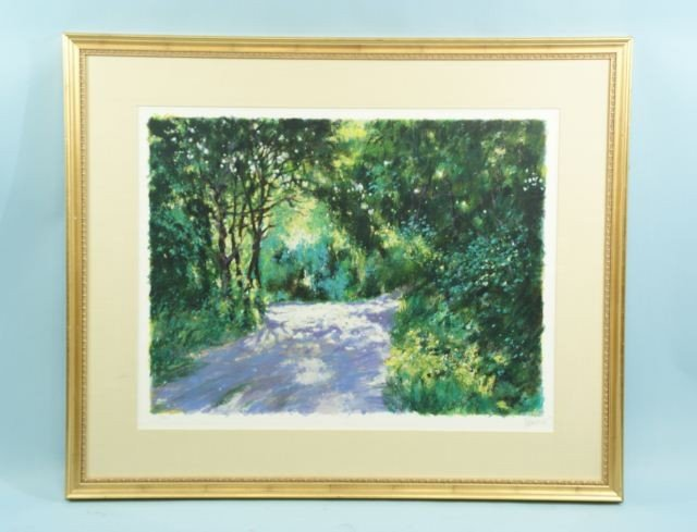"18: ALTWON ""FOREST SCENE"" COLOR LITHO #63/300"