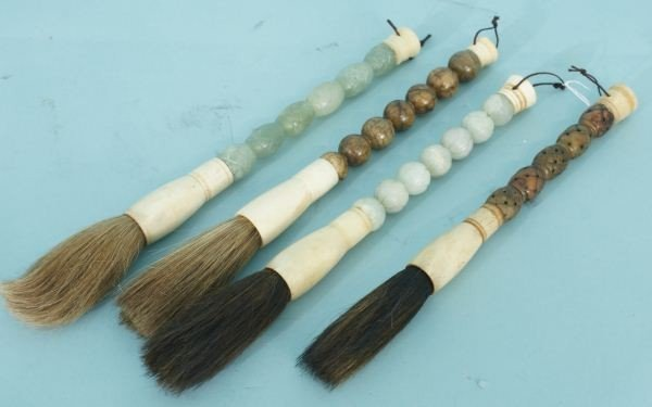 20A: LOT OF FOUR CHINESE BRUSHES