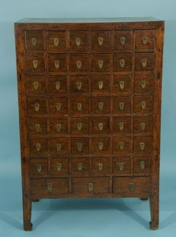 39: ANTIQUE APOTHECARY CABINET